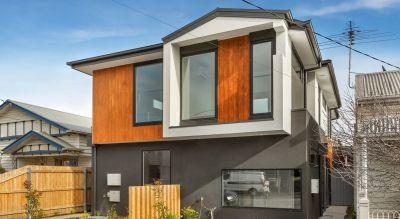Designer, new three-bedroom home bathed in natural light