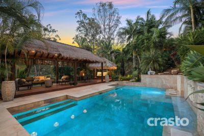 Impressive 60sqs Tropical family Hideaway with Spectacular City Views