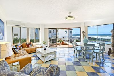 Absolute Beachfront 2 bed 2 bath furnished apartment