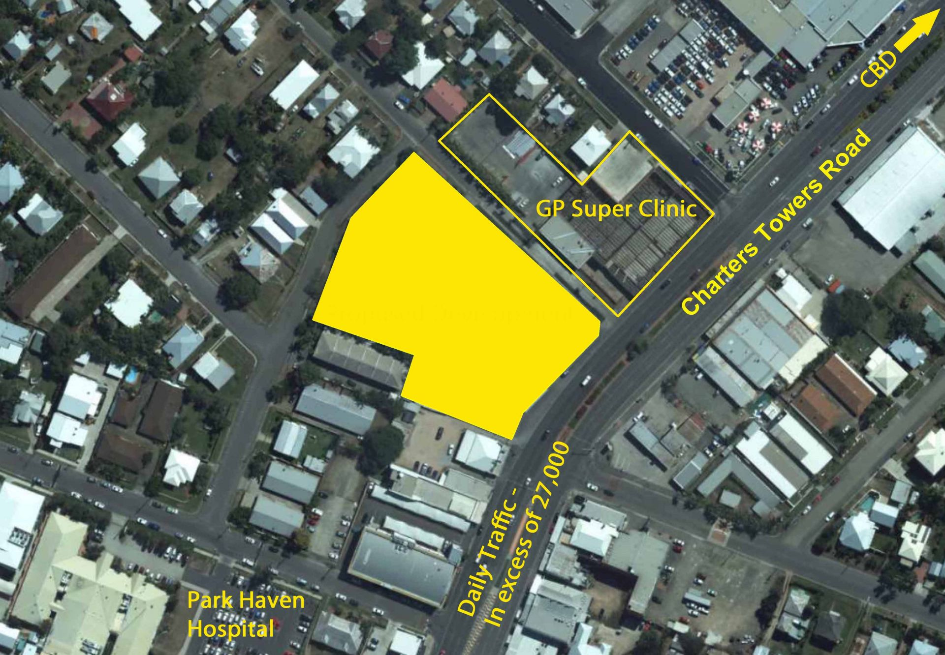 High Profile Development Site on Charters Towers Rd - For Sale