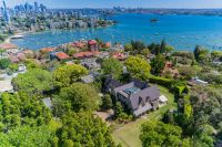 'Rona' Magnificent Sandstone Mansion On Private 5700m2+ With Panoramic 180 Degree Harbour Views, N-S Lawn Tennis Court & Pool
