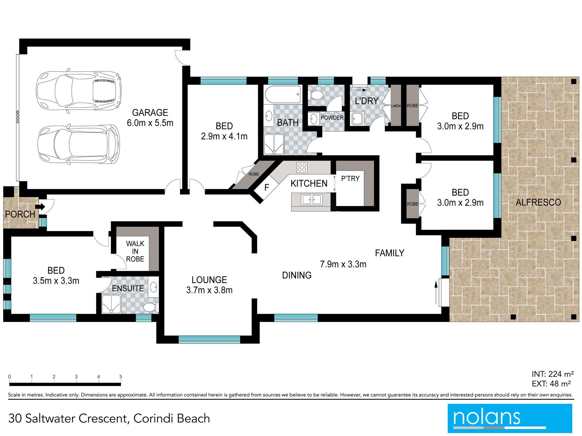 Real Estate For Sale 30 Saltwater Crescent Corindi Beach Nsw Salt Water Diagram Floor Plan
