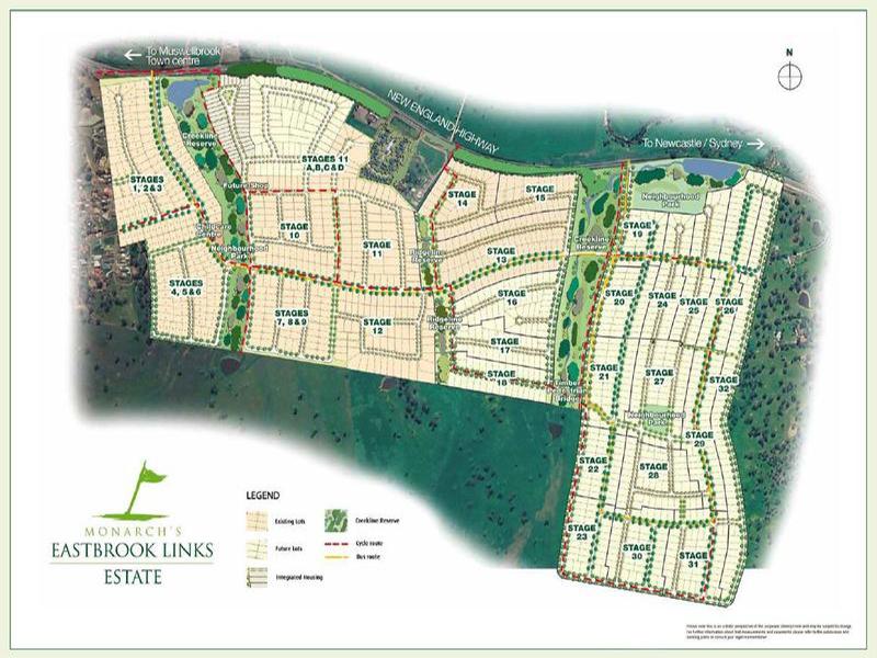 Muswellbrook | Eastbrook Links Estate