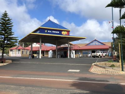 AUGUSTA FUEL STATION