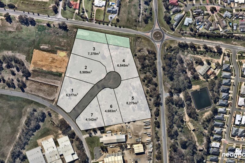 Approved 7 Lot Industrial Development site