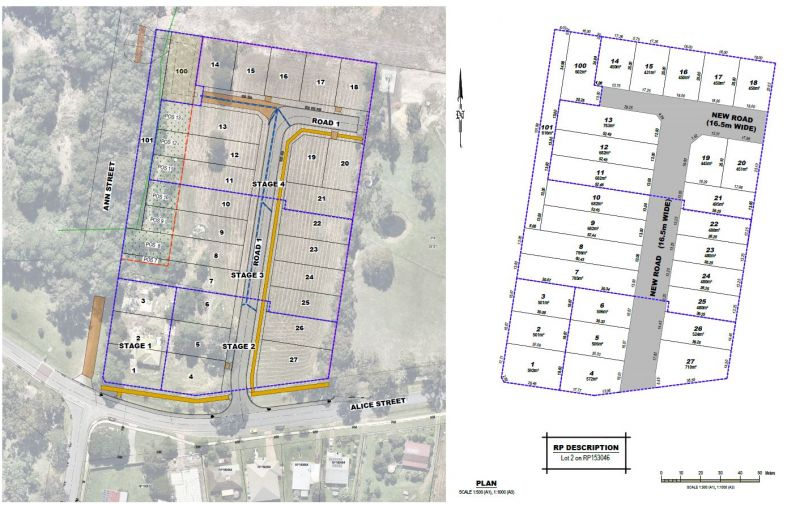 Development Approved for Large Residential Lots