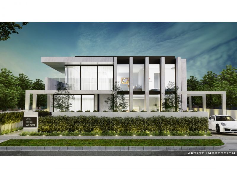 Due for Completion June 2019. Only 1 Remaining - One Three Wilson: Lavish, Spacious, Single Level, And Light-Filled