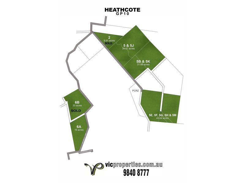 Lt 5B & 5K/ Hylands Lane, Heathcote VIC 3523