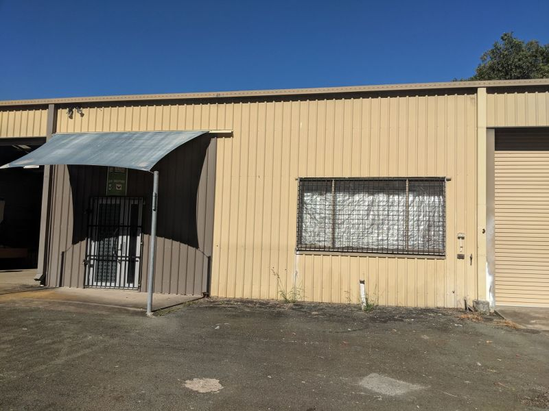 260SQM INDUSTRIAL WORKSHOP/SHED WITH OFFICE