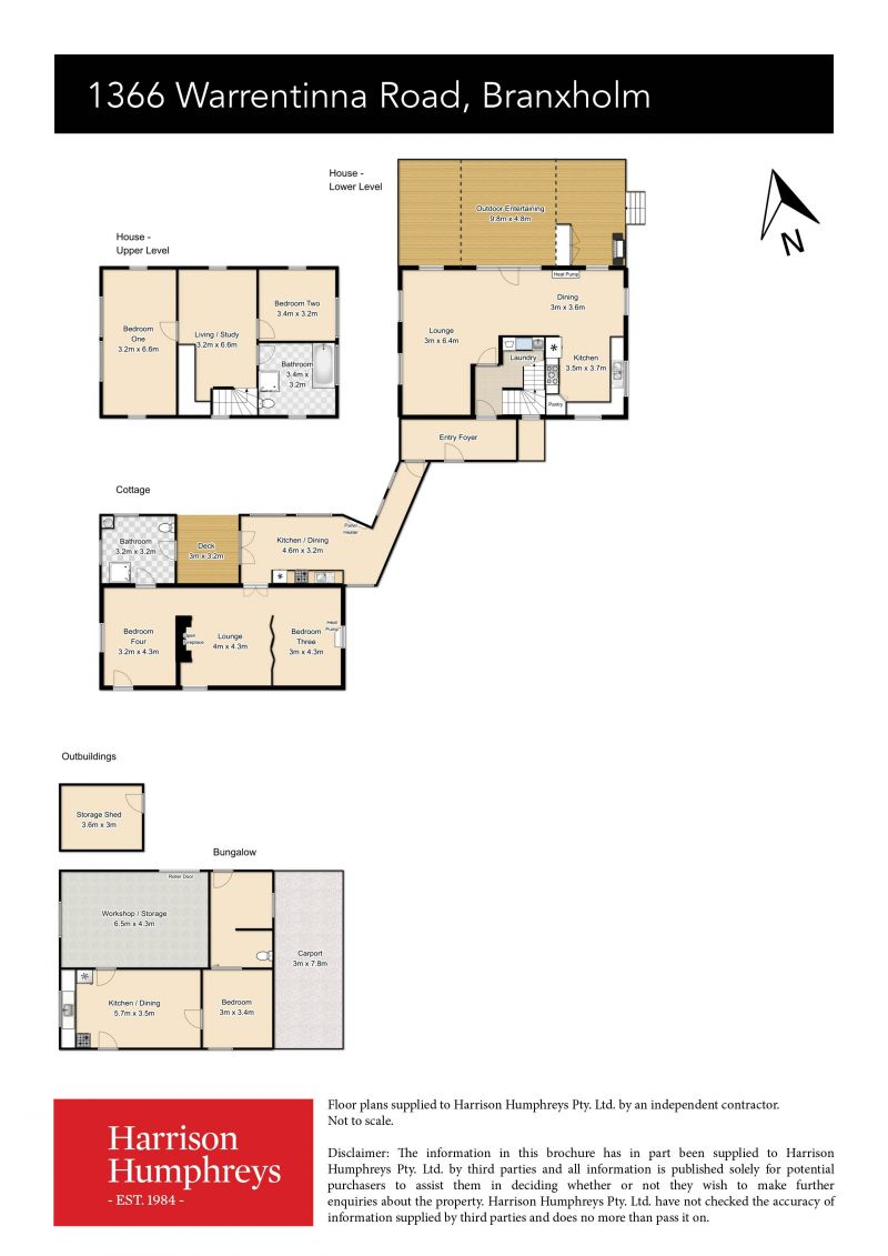 1366 Warrentinna Road Floorplan