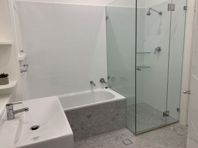 Newly renovated ground floor with 2 new bathrooms