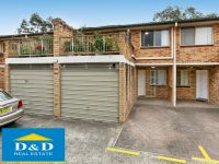 3 Bedrooms. 3 Robes. 2 Bathrooms. Garage plus carspace. Walk to station & shops.