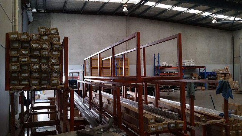 High Clearance Warehouse space with 3 phase power