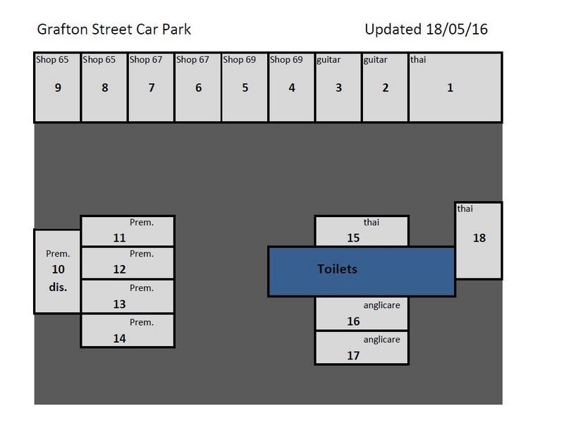 CBD Private Parking Spaces Available