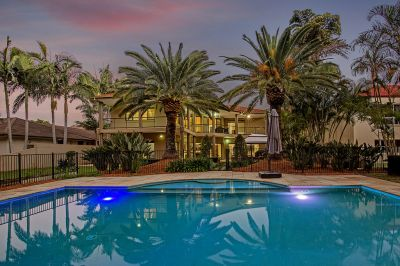 Rare & Magnificent 1233m2 Block of Private Golf  Front Living