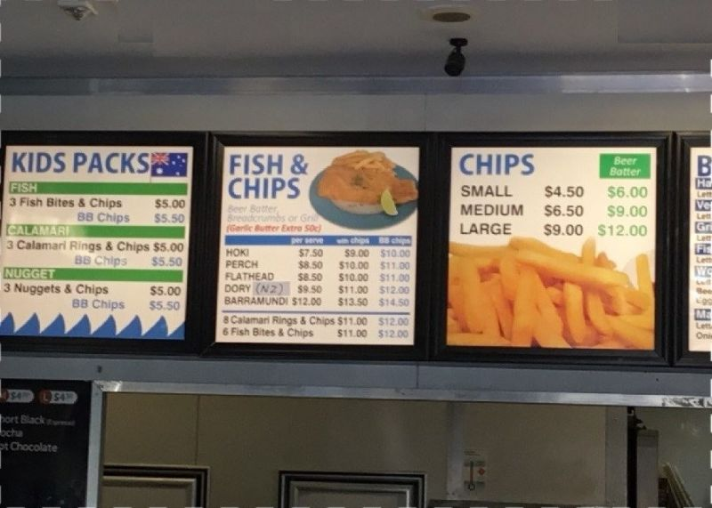 FISH AND CHIP SHOP IN POPULAR SHOPPING CENTRE