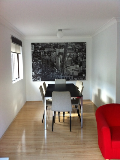 Convenient, Stylish and Furnished Top Floor Apartment