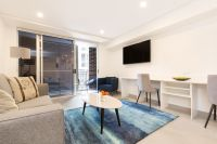 Fully furnished large studio with private balcony or courtyard