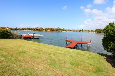 Steelbuilt home on wide water!