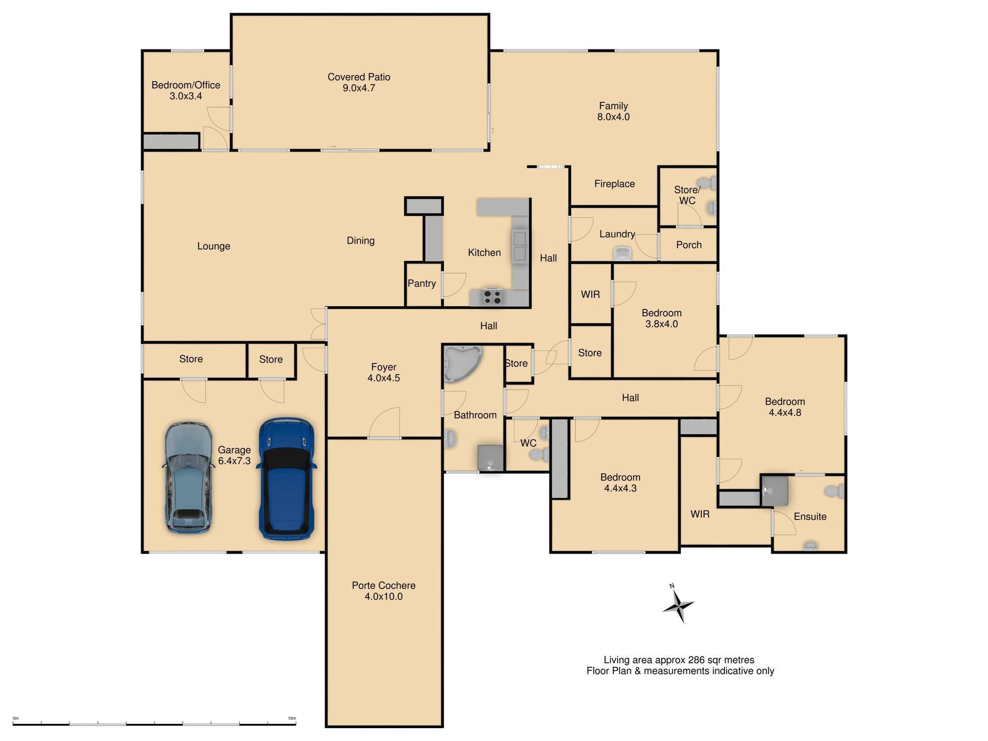 9 Carwoola Drive - Floor Plan