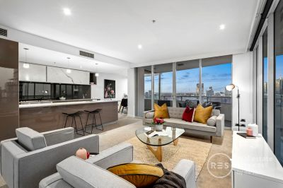 A Yarra's Edge masterpiece with incredible views