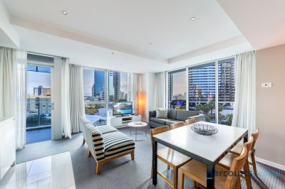 Luxury 2bed,2bath in Hilton Hotel  Strong Returns