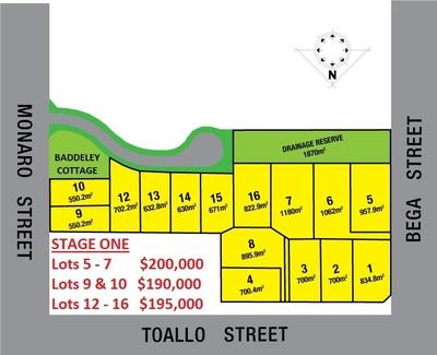 Lot 1-16 Corner of Monaro Street, Toallo Street and Bega Street, Pambula