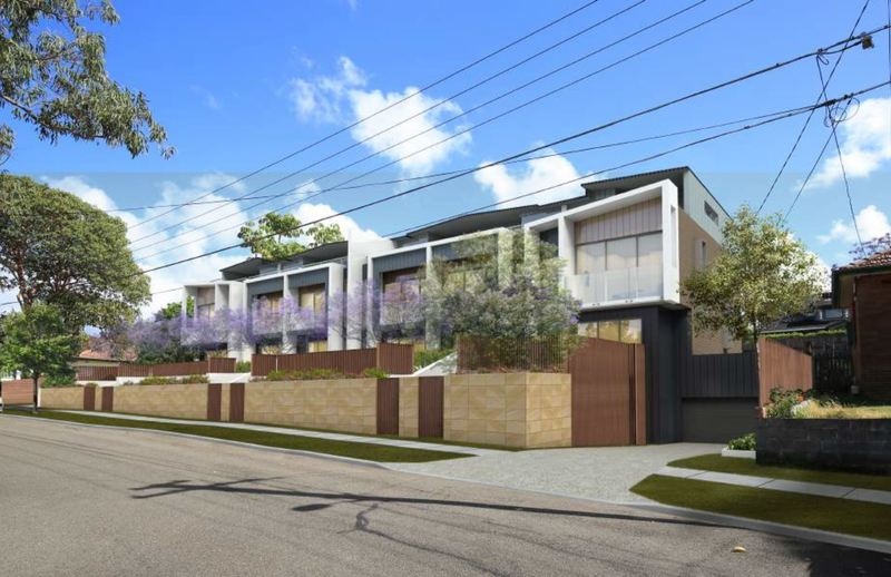 Prime positioned DA approved luxury townhouse site