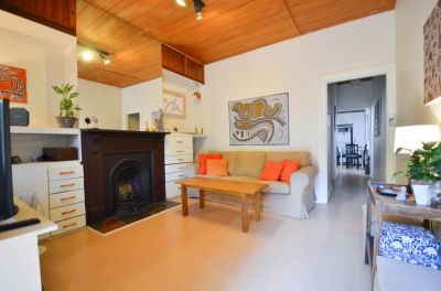PRIVATE LEAFY ONE BEDROOM SEMI IN GREAT LOCATION WITH LOCK UP GARAGE