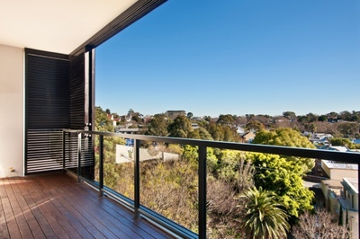 District Views to enjoy from huge balcony