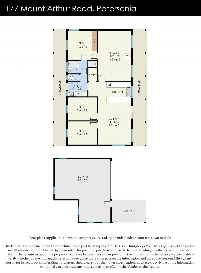 177 Mount Arthur Road Floorplan