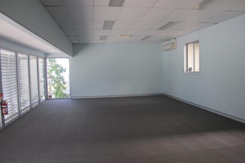 Modern Tilt Panel with Small Office