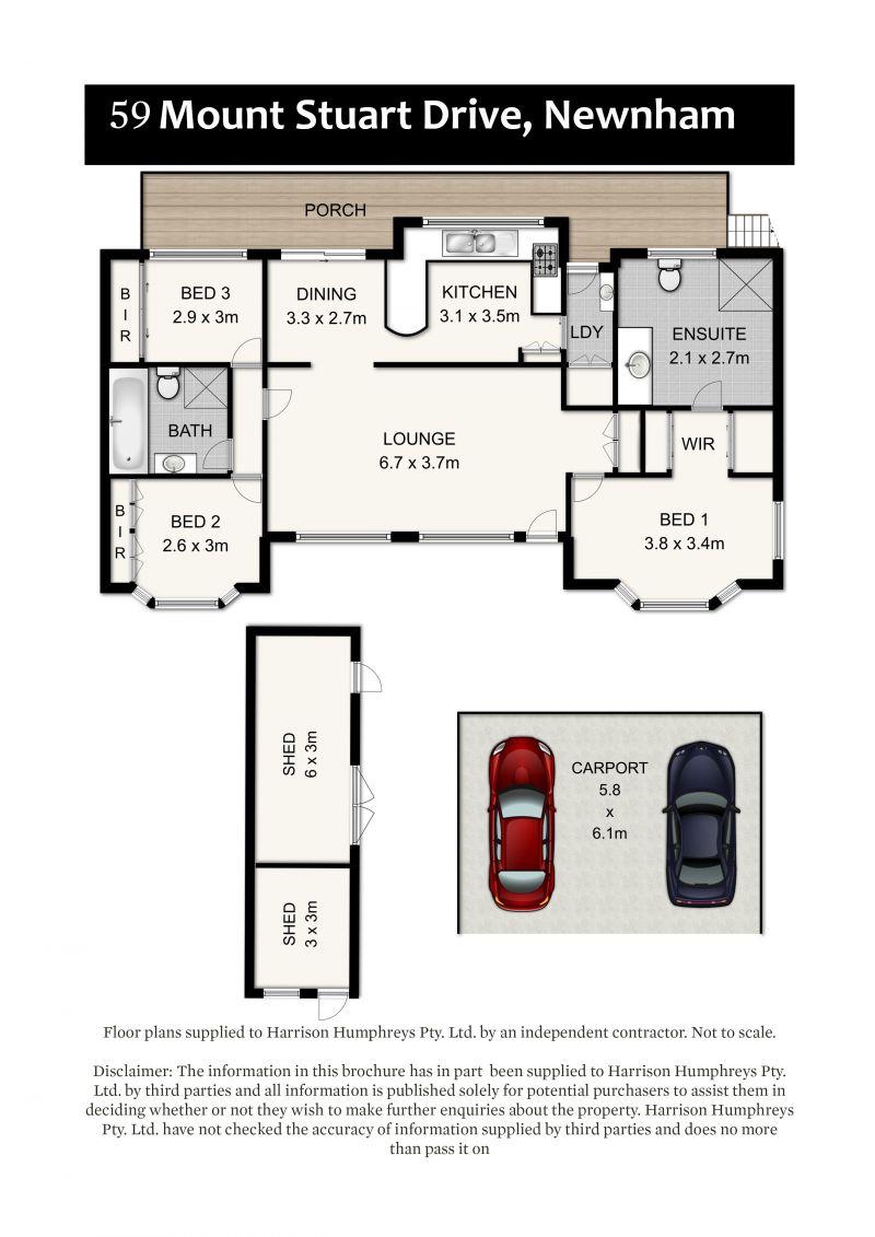 59 Mount Stuart Drive Floorplan