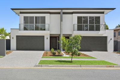 BRAND NEW LUXURY DUPLEX PAIR - BIG AS A HOUSE - 1 SOLD 1 REMAIN