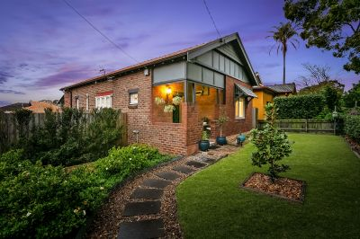 Meticulously renovated home on prized corner block