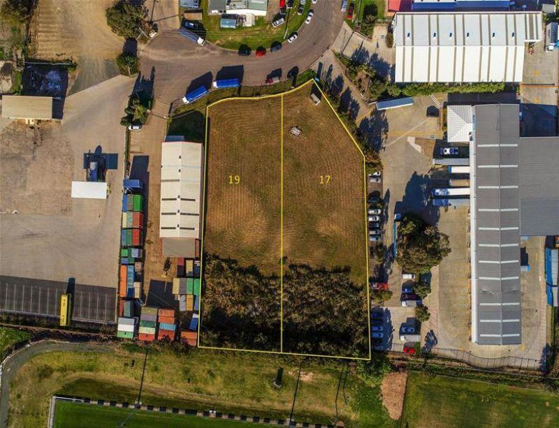 Industrial development sites in popular estate