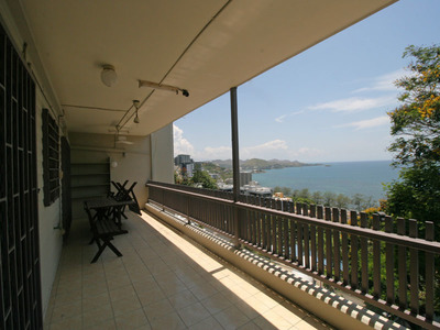 A Stretched Balcony Overlooking Ela Beach