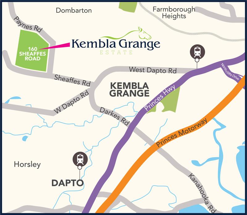 Kembla Grange Lot 2042 Kembla Grange Estate