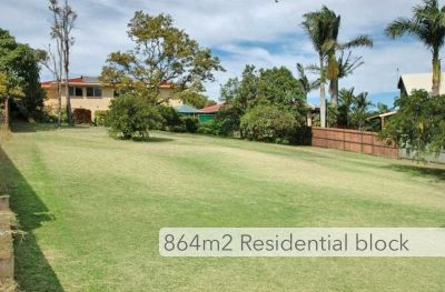 864m2 RESIDENTIAL BLOCK WITH A VIEW!