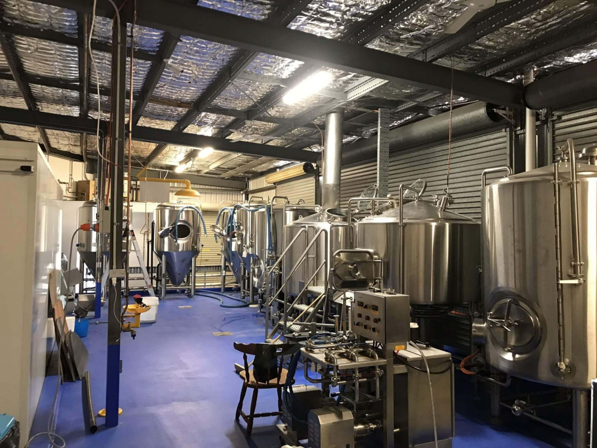 COMMERCIAL BREWERY - READY WHEN YOU ARE!  BRAND NEW EQUIPMENT - NO COMPETITION!