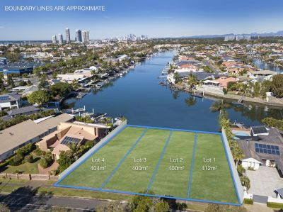 Vacant Waterfront Land - Build YOUR Dream
