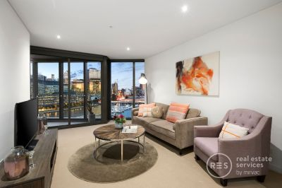 A superb entry level Yarra's Edge pad with river vistas