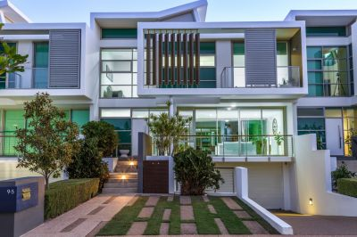 Renovated Three-Level Waterfront Villa with Huge Basement Garage