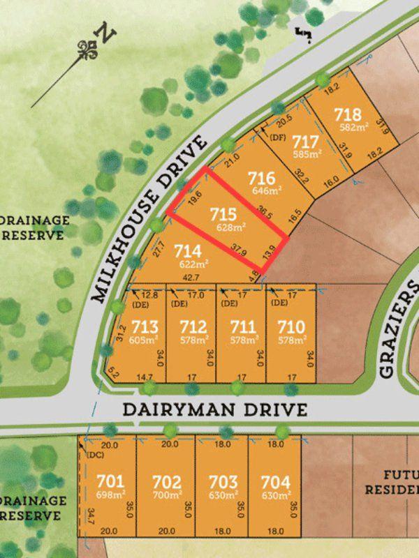 Lot 715 Milkhouse Drive RAYMOND TERRACE 2324