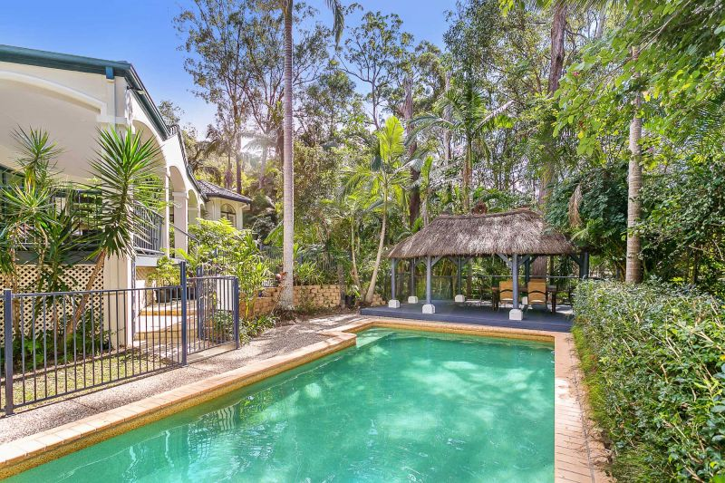 PRIVATE LIFESTYLE HOME IN RAIN FOREST SETTING