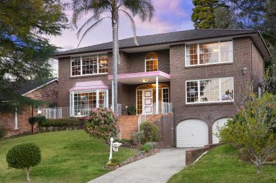 Double brick home with pool first-time offered to the market