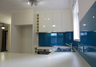 Ground floor Unit with two Courtyards!