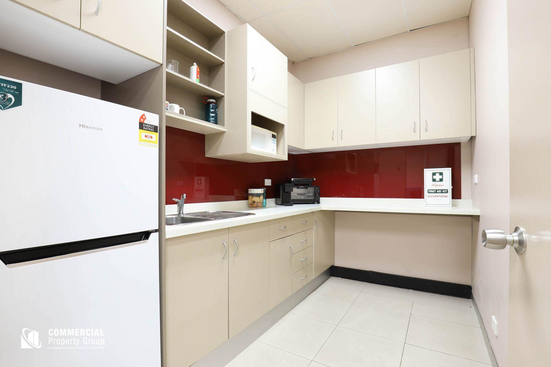 SOLD BY DAMEN ASTEY & KYLE DEWEY - 131m² Modern Ground Floor Office with The Lot