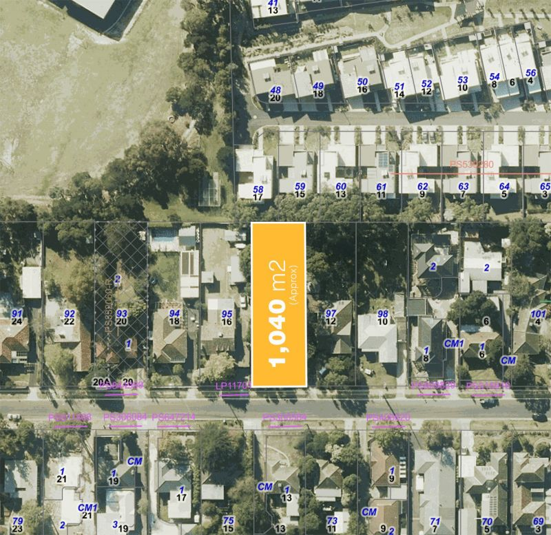 Development Opportunity on 1040 sqm approx.
