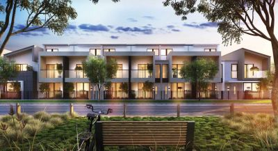 A Modern Blend of Contemporary form and architectural feel in the heart of Melbourne's expanding inner West.